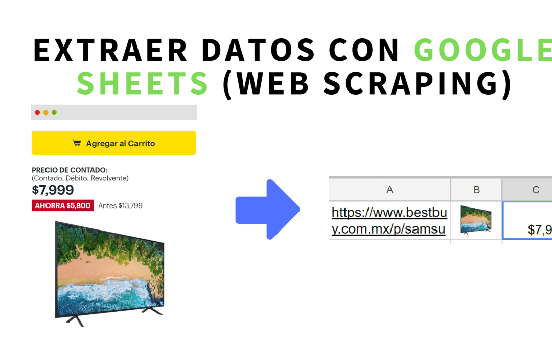 Extracción de datos con Google Sheets