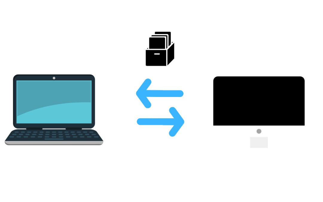 Transferir archivos grandes directamente 1 a 1 de forma privada y segura