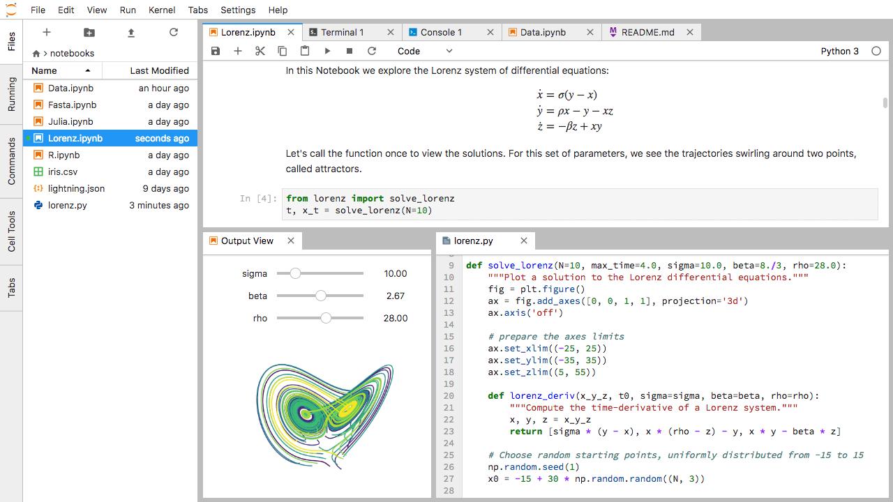 Probando Jupyter + Python + Pandas