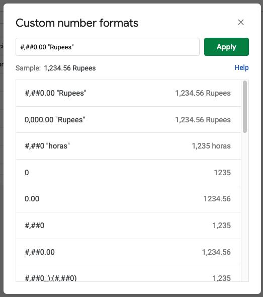 """Escribe el formato #,##0.00 """"mi unidad"""" Aquí puedes definir esta y otras unidades de número personalizadas"""