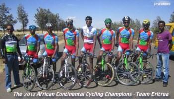 Eritrean Cyclists in Burkina Faso