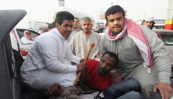 What is the regime in Ethiopia doing to help the estimated 200,000 plus Ethiopians in Saudi Arabia? Not a damn thing!