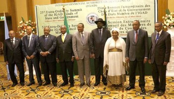 For better or Worse. The Kiir government will get a boost as IGAD leaders call for a hasty deployment of force in the country