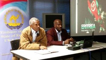 New Eritrean envoy to United Kingdom and Ierland, Ambassador Estifanos Habtemariam