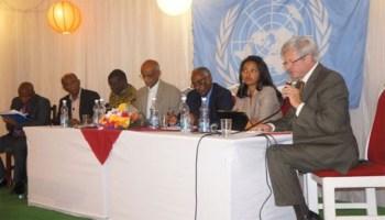 UN Day 2014 Eritrea. Celebrating the new National Development Plan and Eritrea's impressive record on the health MDGs