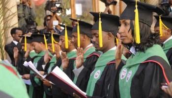 Medical Doctors graduation at Orotta School of Medicine