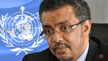 Tedros Adhanom for WHO candidate