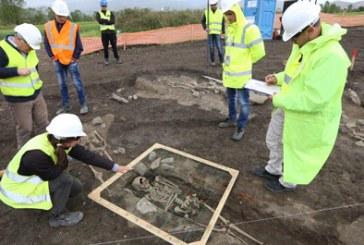 Punimet për TAP-in zbulojnë një vendimbanim të epokës së hekurit