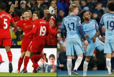 """Liverpooli mund Mancester City, spektakël loje e golash në """"Anfield Road"""""""