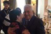 Maradona takohet me Maohmud Abbas: Palestina, zemra ime! (video)