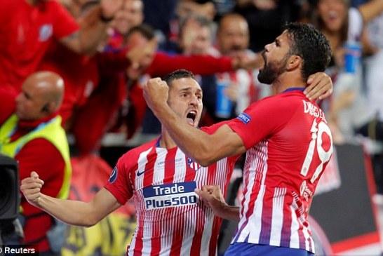 Spektakël spanjoll në Estoni: Atletiko dërmon Realin, fiton superkupën e Europës (rastet dhe golat)