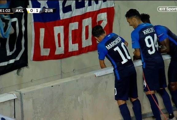 """Futbollisti kosovar bëhet hit në rrjet: """"humbet"""" pas shënimit të golit, shokët e kërkojnë…"""