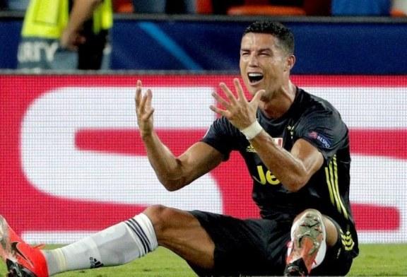 E kuqja e beftë në Champions: si u shpërfytyrua portreti krenar i Ronaldos