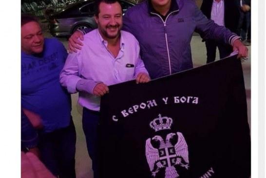 Serbët, të dashuruar me kreun e Liga-s: Salvini, ky çetnik!