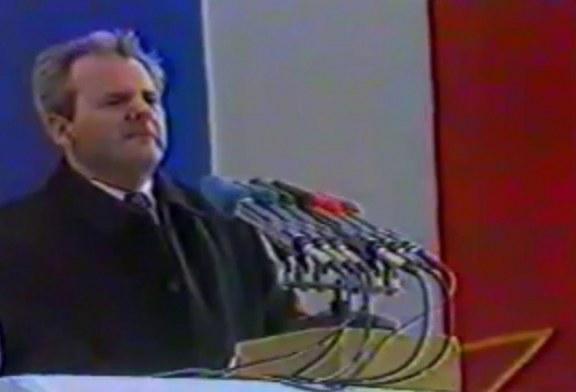 30 vjet më parë/Kur Millosheviçi paralajmëroi luftrat në Jugosllavi: ja me ç'fjalë nisi drama kosovare