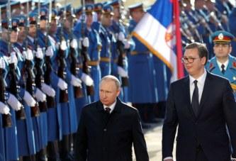 """VIZITA/ Serbia në delir: mirëpret Putinin, """"engjëllin"""" e saj mbrojtës (video)"""