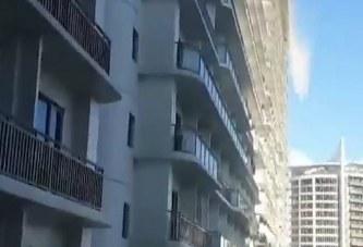 Drithëruese: si kalamenden rrokaqiejt gjatë një tërmeti në Filipine (video)
