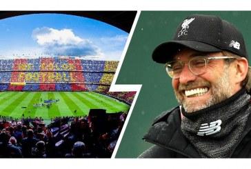 Ende pa filluar ndeshja, Klopp zhvlerëson Barcelonën