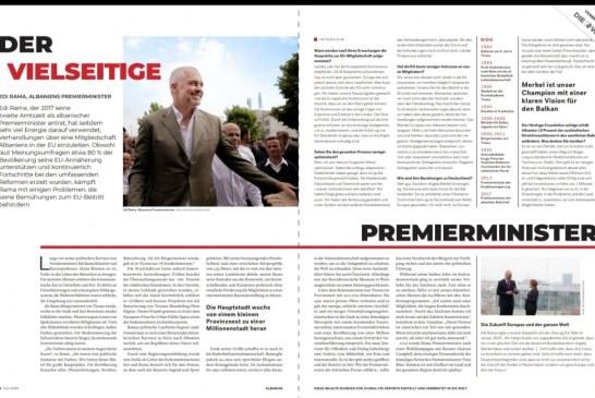 INTERVISTA/ Rama, goditje Bild-it nga Die Welt: lajmet e këqia, nga gazetarë dembelë