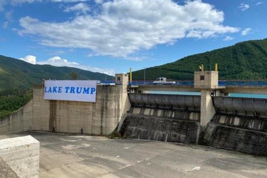 """PROPOZIMI/ Hajgare? Jo! Ujmani do pagëzohet si """"Liqeni Trump""""…"""