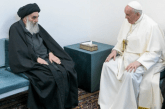 """Kreu i Shiizmit në Irak i """"hap derën"""" Papa Françeskut: ç'ka të veçantë takimi mes tyre"""