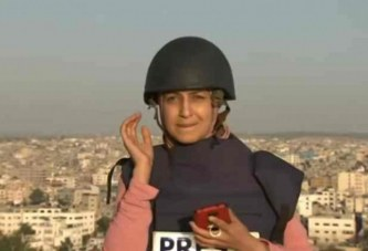 Ç'i ndodhi kësaj gazetareje të Al Jazeera-s gjatë raportimit nga Gaza (pamje)