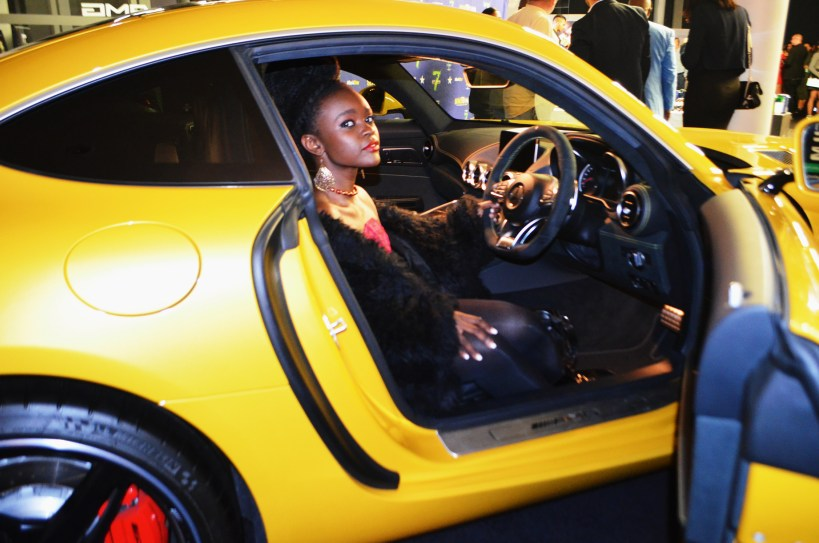 Teshie Ogallo at StyleXposure Mercedes Benz Century City