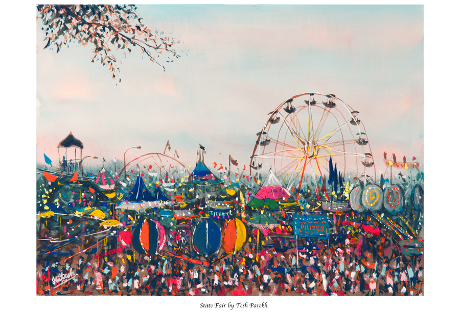 """Now available for purchase- """"State Fair"""" Fine Art Print by Raleigh NC Fine Artist"""