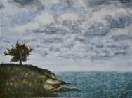 """One Tree Hill, Grand Turk (12""""x16"""")"""