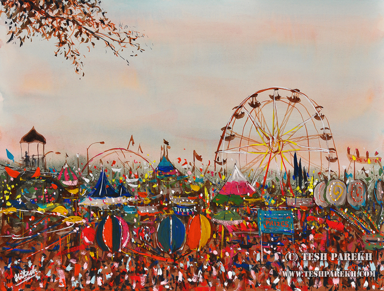 Two paintings juried into 2012 NC State Fair and my art show