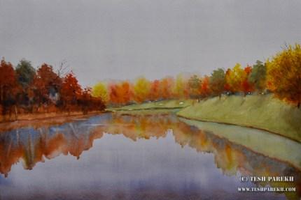 north-ridge-raleigh-nc-watercolor-painting-fine-art-gallery