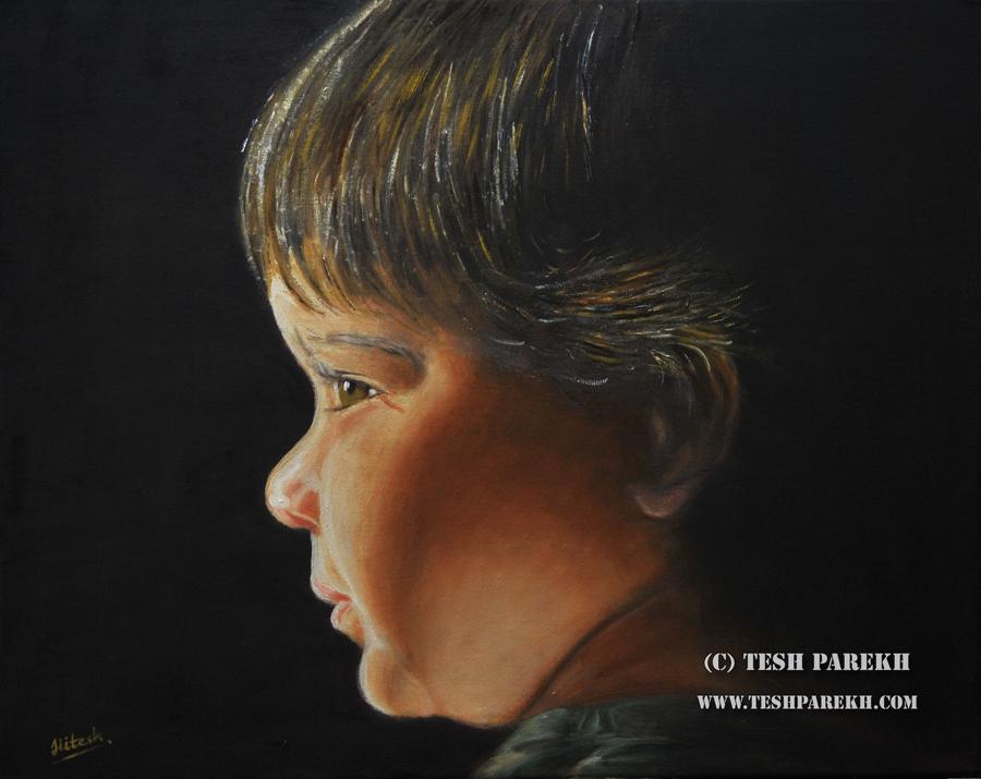 Raleigh Portrait Artist – Oil Portrait on Linen