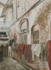 Wash Day. Watercolor painting on paper.