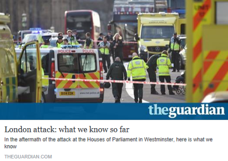 London attack - what we know so far - The Guardian