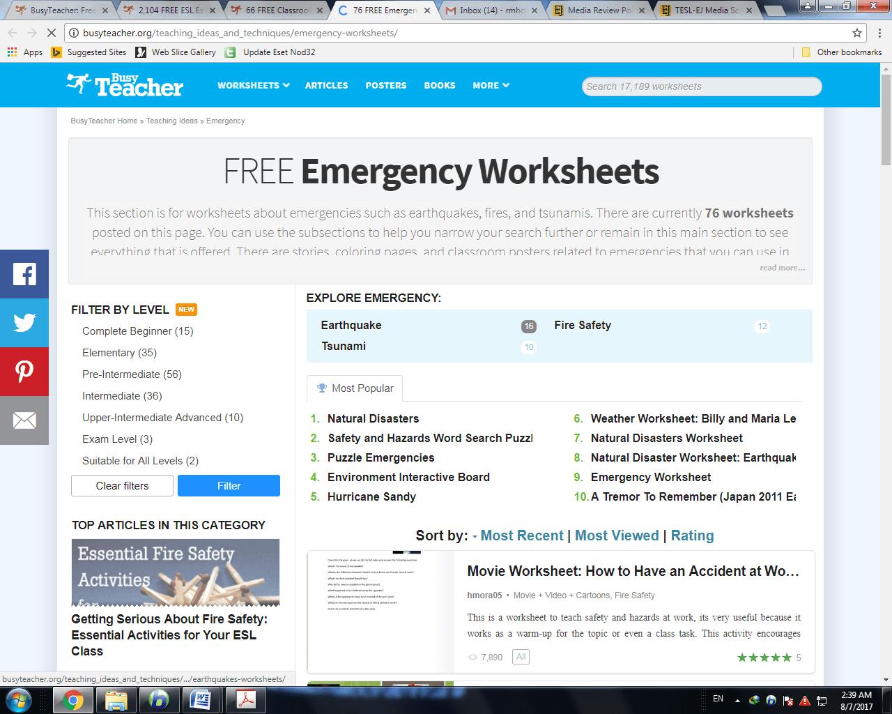 Busyteacher A Website Of Resources For English Teachers