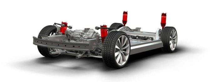Elon Musk prozatím zrušil plány na vzduchové odpružení pro Model 3