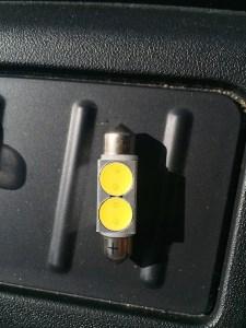 LED plate bulb