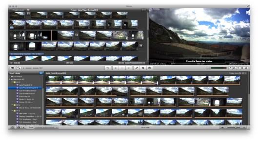 Editing dashcam movies