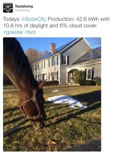 Solar Tweet