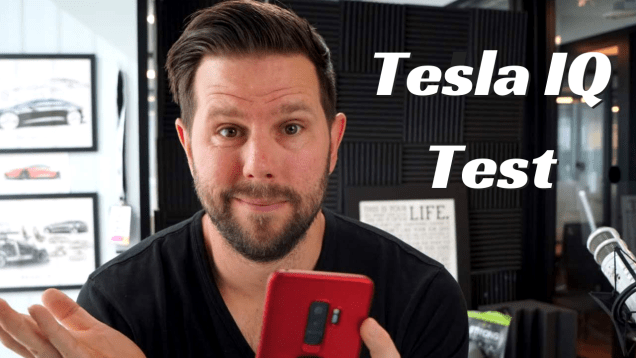 Telsa IQ Test