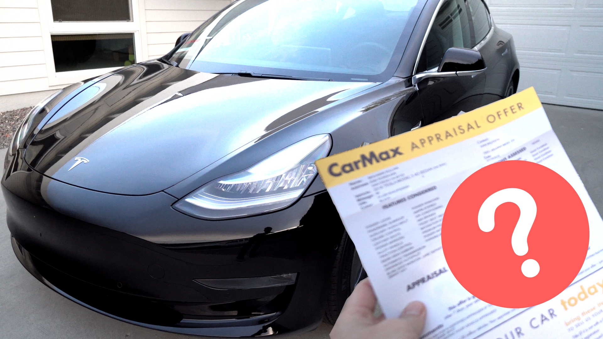 Taking My Tesla Model 3 To Carmax Guess How Much They Offered