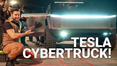 The First Tesla Pickups (Cybertruck) is Insane!