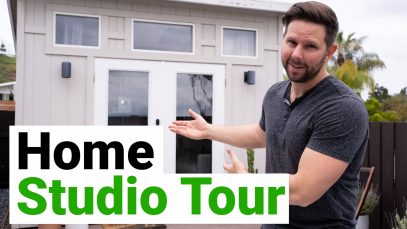 Home Studio Tour 2020 – Quarantine Edition!