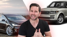 Tesla Model X vs Range Rover – Which is the Better Value?