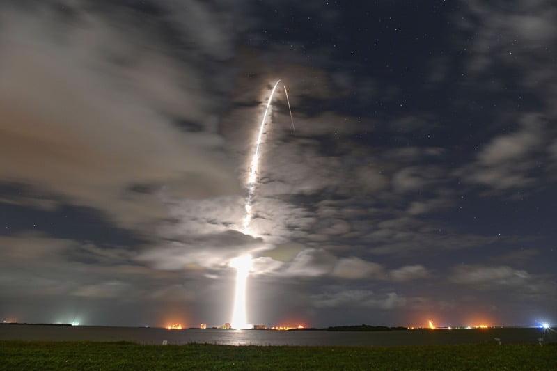 Falcon 9 starlink seventh launch