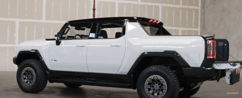 First Look 2022 Gmc Hummer Ev Prototype Videos Teslanorth Com