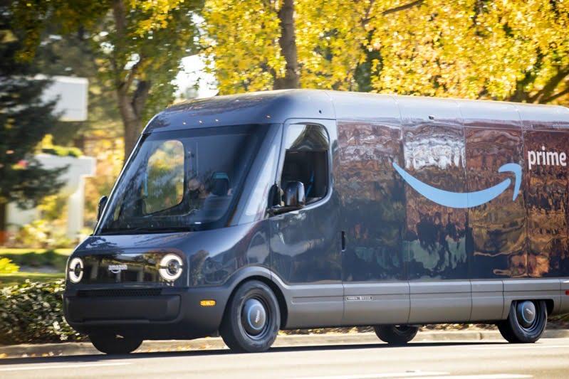Rivian amazon truck
