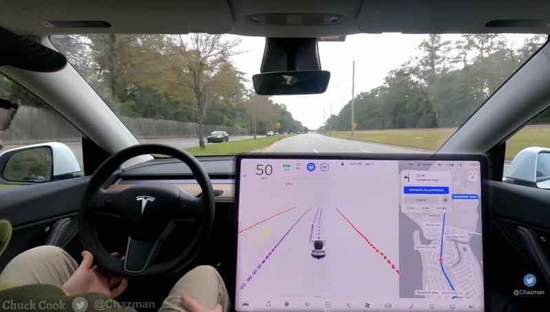 Tesla FSD Beta V9.0 'Almost Ready', Will Have 'Pure Vision, No Radar' Says Elon Musk - TeslaNorth.com