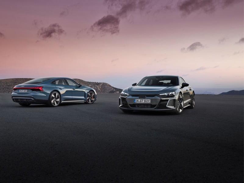 Audi e tron gt hero