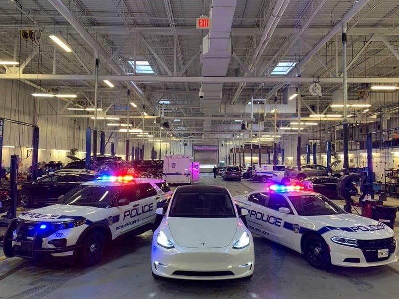 Tesla police peel ontario